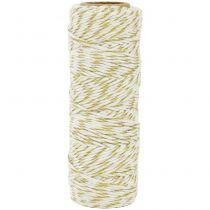 Lucky Dip Metallic Hemp Cord 1.0mmX54m Gold