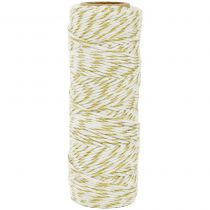 Lucky Dip Metallic Hemp Cord 1.0mmX54m Gold