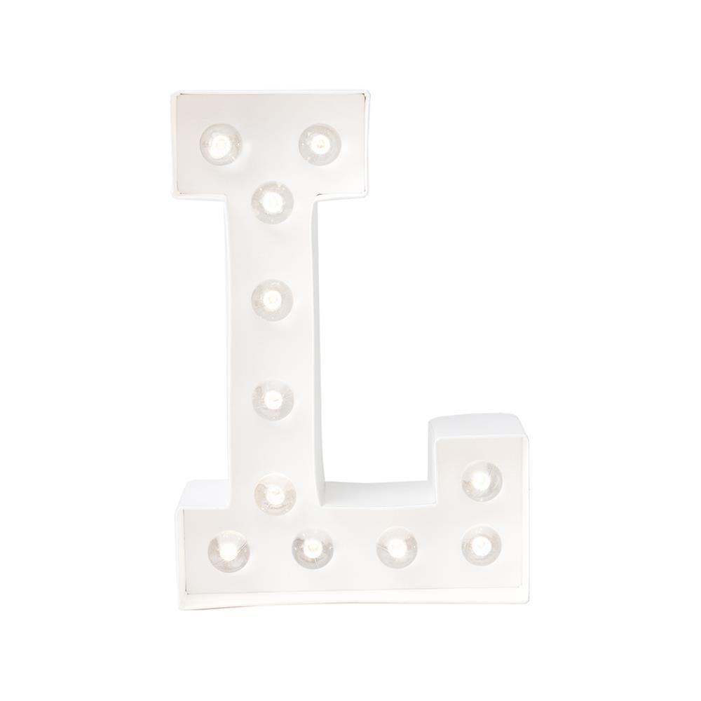 marquee love lettre lumineuse l. Black Bedroom Furniture Sets. Home Design Ideas