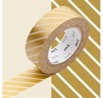 MASKING TAPE MOTIF RAYÉ OR / STRIPE GOLD