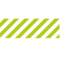 MASKING TAPE MOTIF RAYURES / STRIPE SHOCKING GREEN (VERT FLUO)