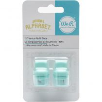 Mini Alphabet Punch Board Blade Refill 2/Pkg