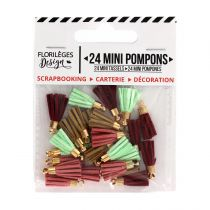 Mini pompons GYPSY FOREST
