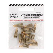 Mini pompons SABLE