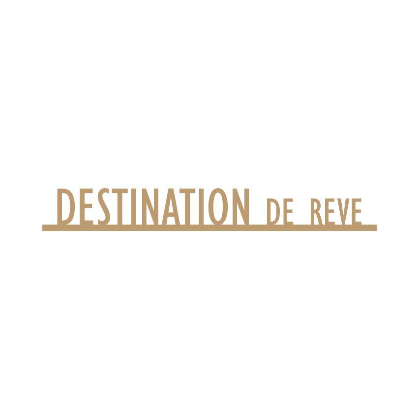 MOTS MDF 3 MM DESTINATION DE REVE