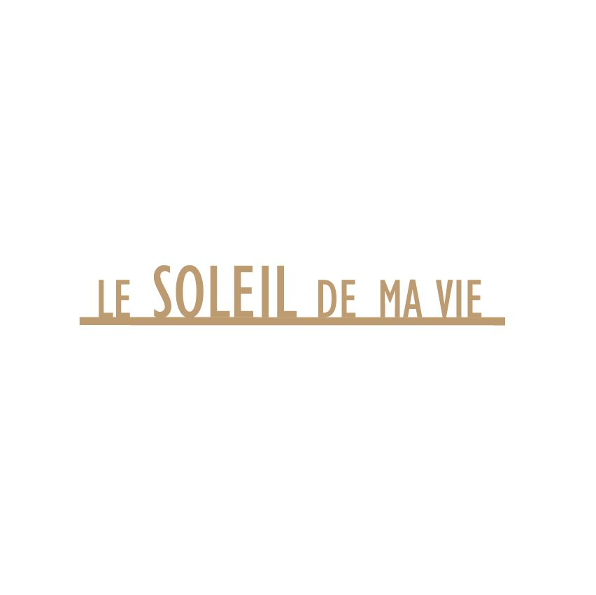 MOTS MDF 3 MM LE SOLEIL DE MA VIE