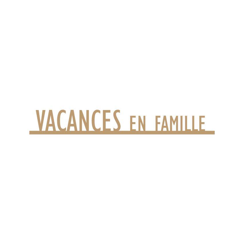 MOTS MDF 3 MM VACANCES EN FAMILLE