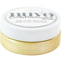 Nuvo embellishment mousse Lemon Sorbet