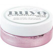 Nuvo embellishment mousse Lilac Lavendar
