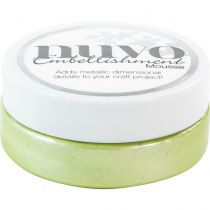 Nuvo embellishment mousse Spring Green