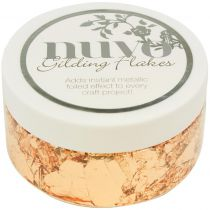 Nuvo Gilding Flakes 6.8oz Sunkissed Copper