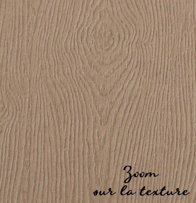 Papier imitation bois 30 5 30 5 cm marron clair - Papier adhesif imitation bois ...