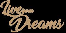 PHRASE DECO MDF 3 MM LIVE YOUR DREAMS