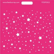 POCHOIR ETOILES - 022