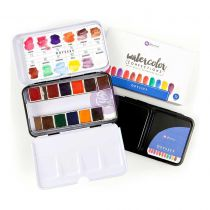Prima Watercolor Confections Watercolor Pans 12/Pkg Odyssey