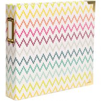 "Project Life D-Ring Album 8""X8\"" Chevron"