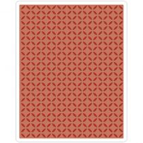 Sizzix Texture Fades A2 Embossing Folder Courtyard By Tim Holtz
