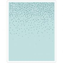 Sizzix Texture Fades A2 Embossing Folder Snowfall/Speckles By Tim Holtztz