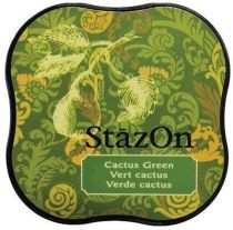 STAZON MIDI INK PAD CACTUS GREEN