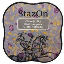STAZON MIDI INK PAD CLOUDY SKY