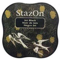 STAZON MIDI INK PAD JET BLACK