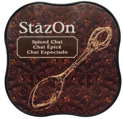 STAZON MIDI INK PAD SPICED CHAI