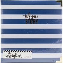 "Storyline2 D-Ring Album 8.5\""X11\"" Watercolor"