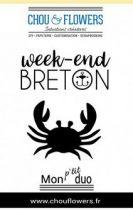 Tampon non monté Week-end breton