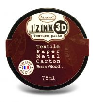 TEXTURE PASTE IZINK 3D AMBRE