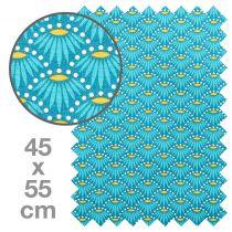 TISSU HONEY FLEURS 45X55 CM