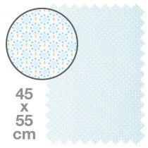 TISSU HONEY RONDS 45X55 CM