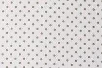 TISSU PETITS POINTS - BLANC/GRIS 50 X 70 CM