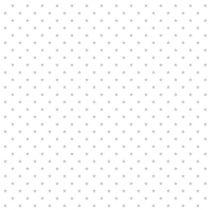 TOILE ETOILES - BLANC/ARGENT 50 X 140 CM