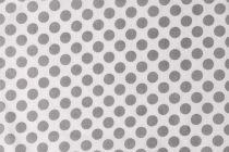 TOILE GRAND POINT BLANC/GRIS 50 X 70 CM