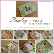 TUTORIEL ALBUM MAI 2016 PAR MYLENE