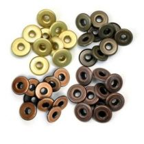 WIDE EYELETS COPPER WARM METAL