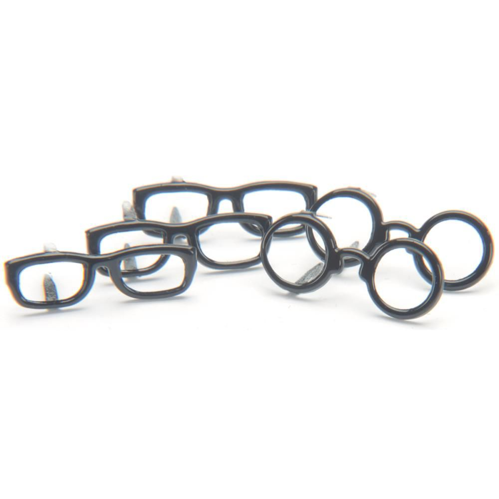 12 brads Black Glasses - lunettes noires