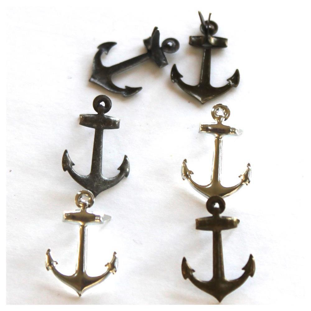 12 brads Metallic Anchor