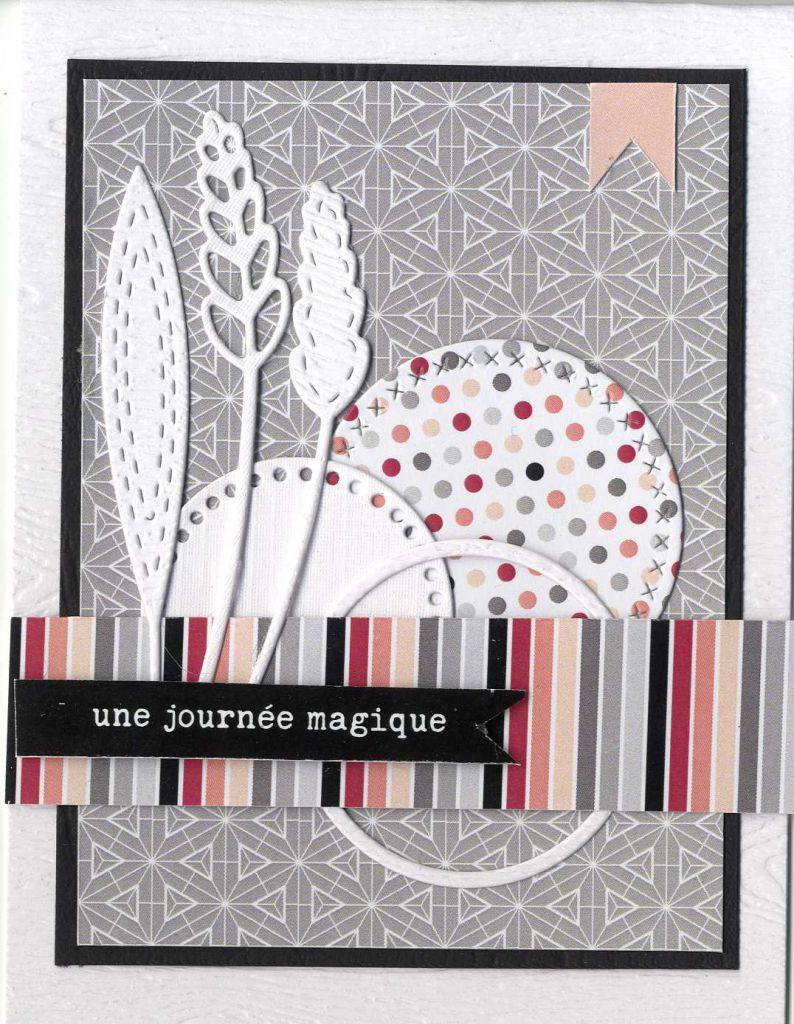 2 DIES FEUILLES LONGUES EVIDEES + COUTURE