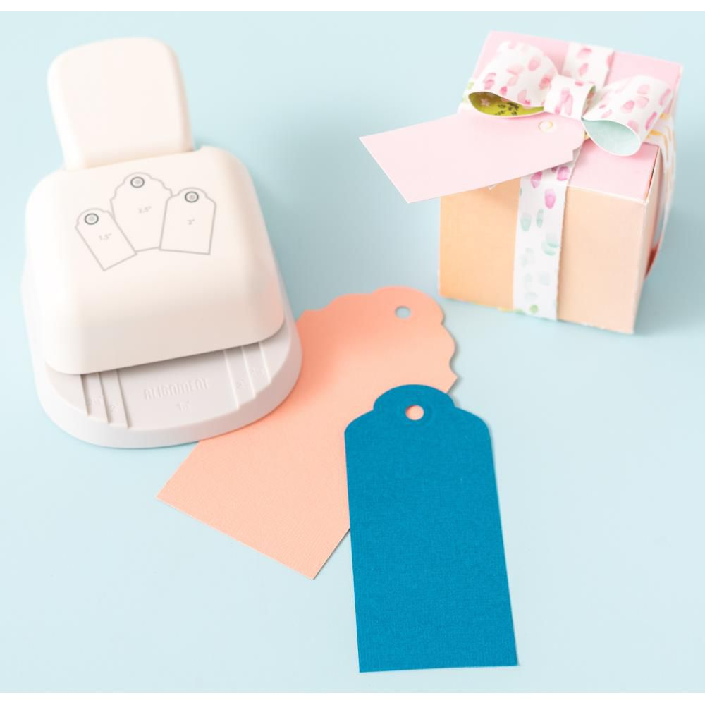3-In-1 Punch Rounded Tag
