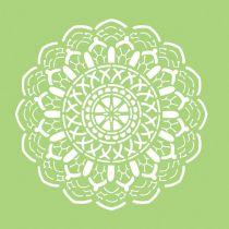 6 X 6 POCHOIR - Crochet Doily