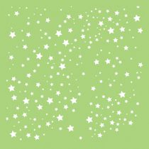 6 X 6 POCHOIR ETOILES - Scattered Stars