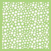 6 X 6 POCHOIR RONDS - Bubbles