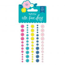 60 ENAMEL DOTS ONE FINE DAY
