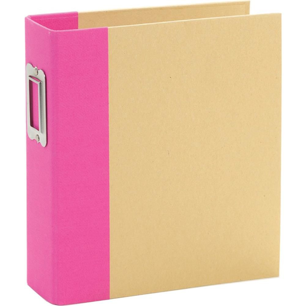 6X8 SN@P! BINDER PINK - Album Classeur Rose