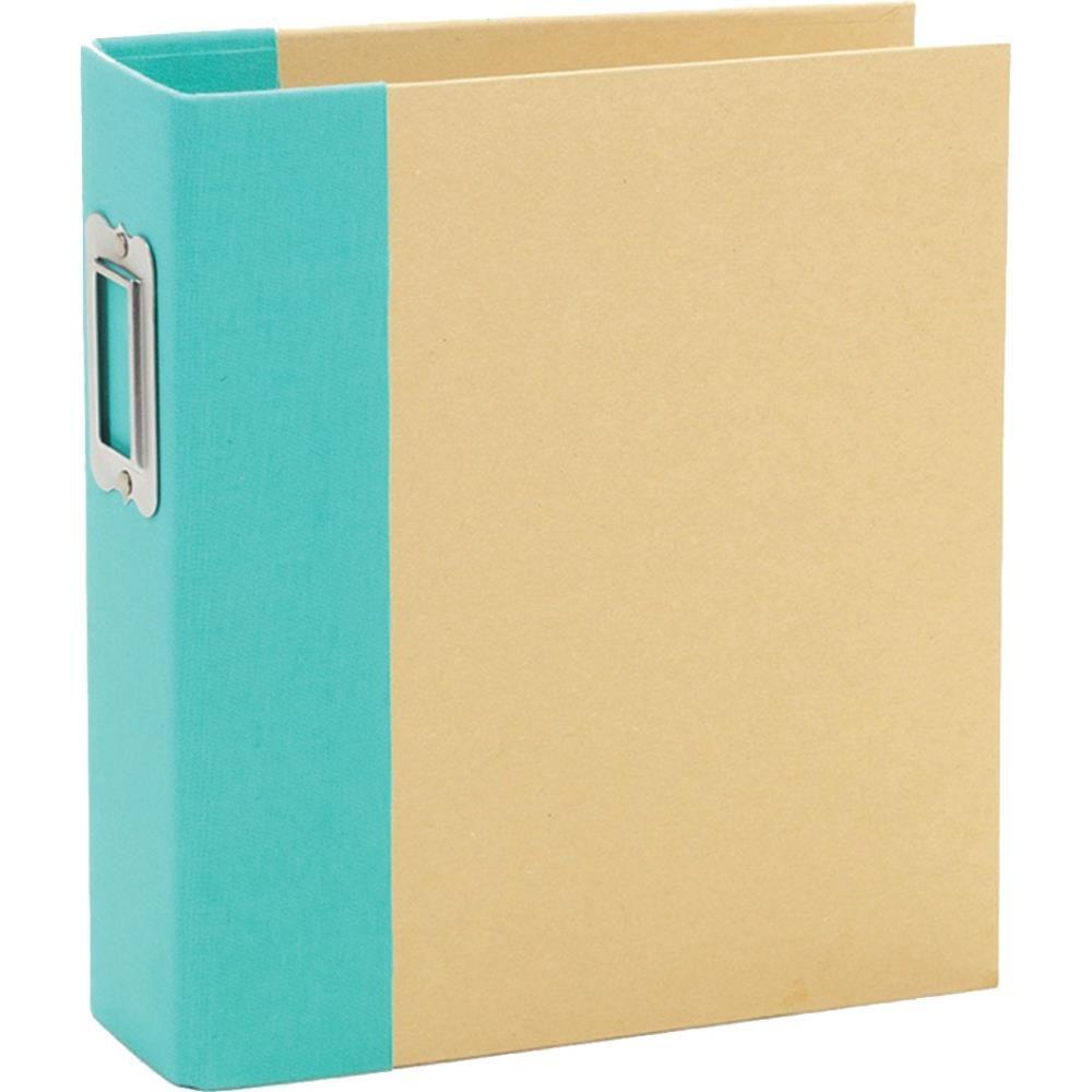6X8 SN@P! BINDER TEAL - Album Classeur Turquoise