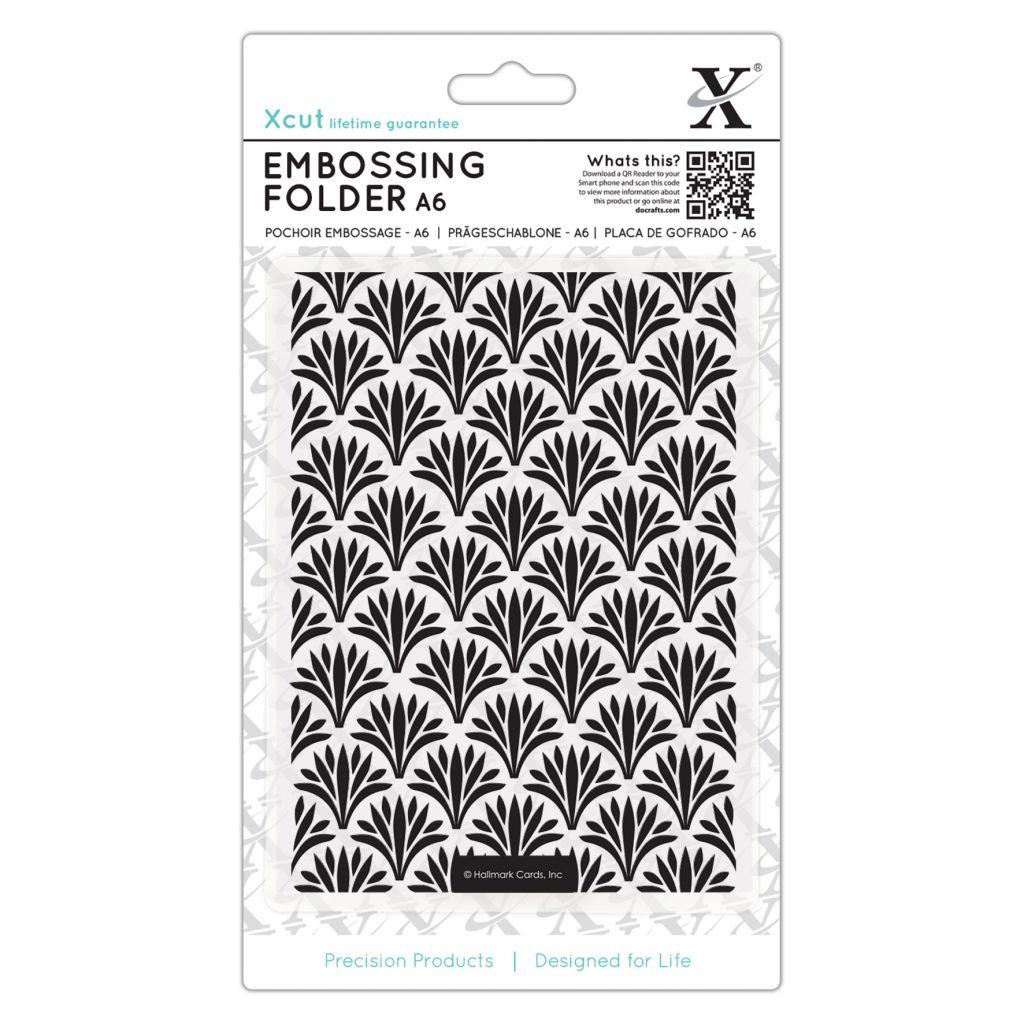 A6 Embossing Folder - Imprimé Art Déco