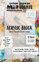 AALL and Create A7 Acrylic Block