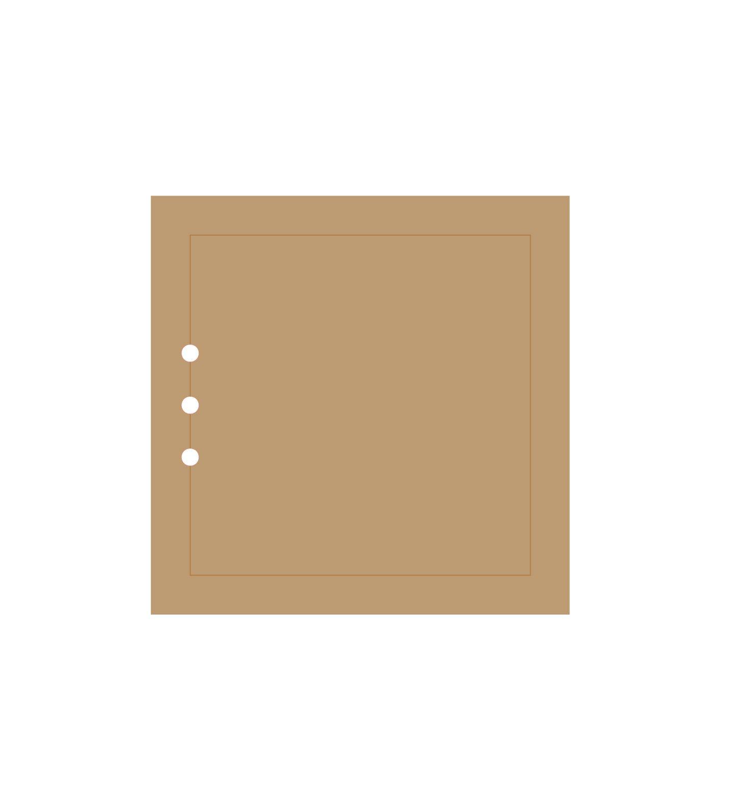 ALBUM 14.4 X 14.4 CM - GRAVE