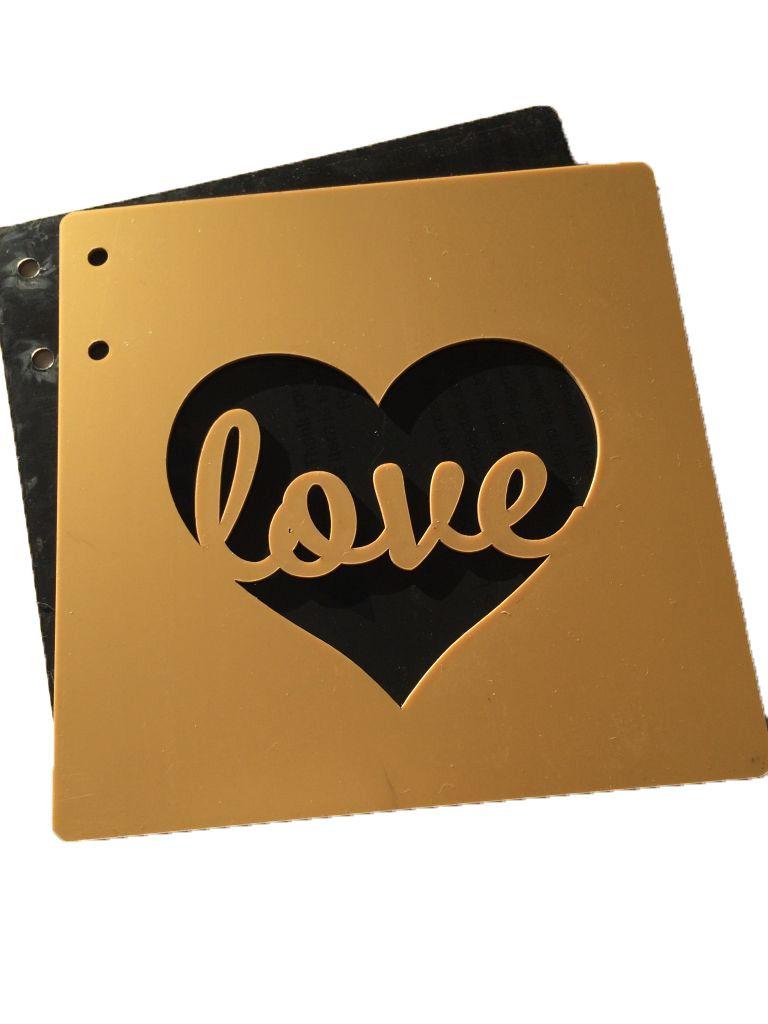 ALBUM 15*15CM 1.6MM LOVE OR